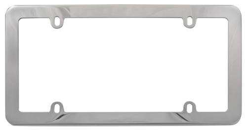 Stainless License Plate Frame Steel