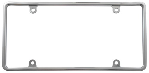 Cruiser Accessories License Plate Frame Slim Rim Chrome 21330