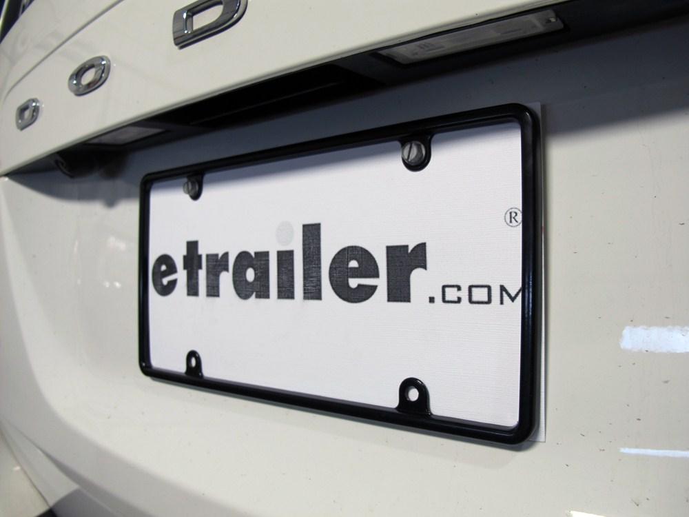 Cruiser Tag Frame License Plates And Frames   CR21350 On 2012 Dodge Grand  Caravan
