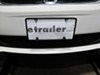 Slim Rim License Plate Frame - Black Tag Frame CR21350 on 2012 Dodge Grand Caravan