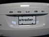 License Plates and Frames CR21350 - Plain - Cruiser on 2012 Dodge Grand Caravan