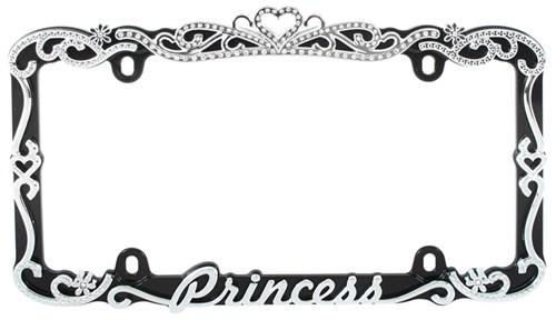 Compare Ribbon Bling License vs Princess License | etrailer.com