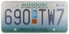 Cruiser License Plates and Frames - CR76100