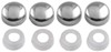 Fastener Caps for License Plates and License Plate Frames - Chrome - Qty 4 Fastener Caps CR82630