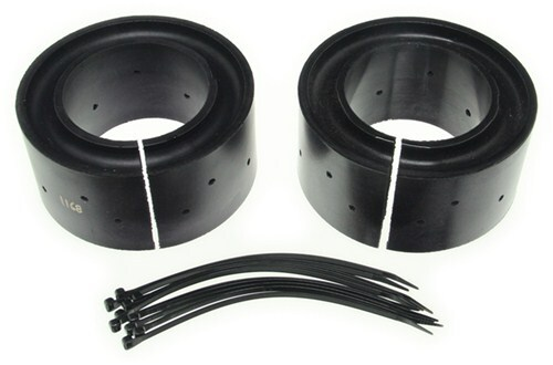 Pair Mustang II Coil Spring Cushions street rod pads rubbers cushion rubber pad