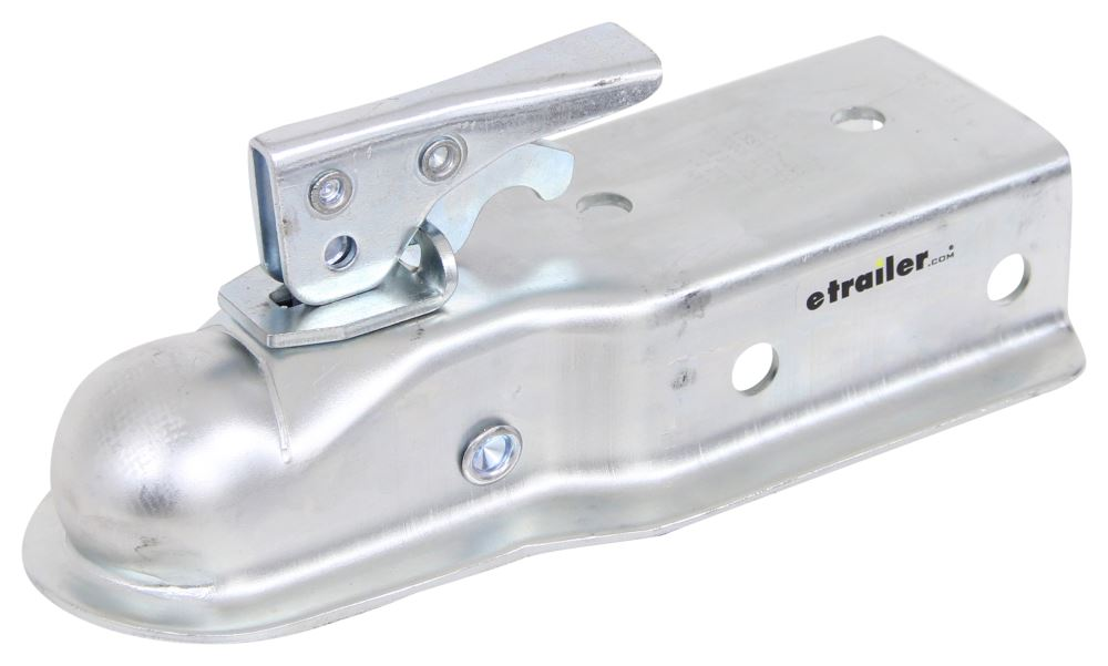 "Channel Tongue Trailer Coupler - Trigger Latch - Zinc - 2"" Ball - Bolt On - 5,000 lbs Trigger Latch CT-5003-Z"
