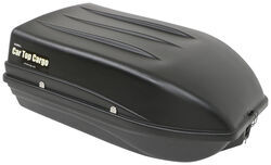 Car Top Cargo Rooftop Cargo Box - 9 cu ft - Black