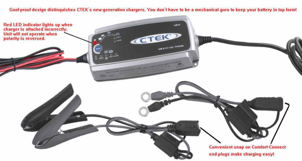 CTEK MULTI US 7002 12-Volt Universal Battery Charger w/ Pulse