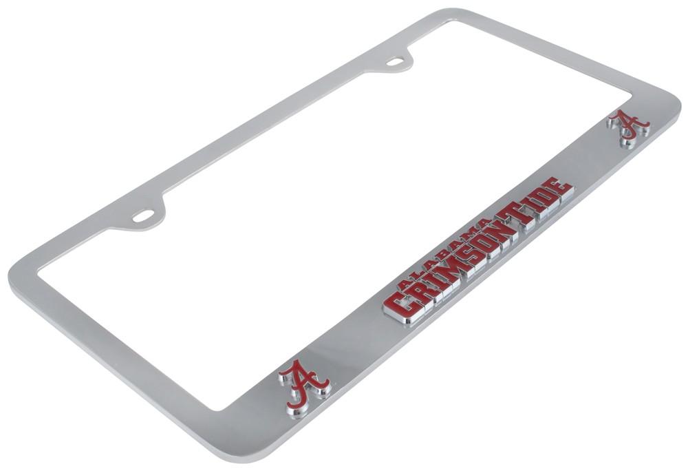 Alabama Crimson Tide Chrome License Plate Frame.Alabama Crimson Tide ...