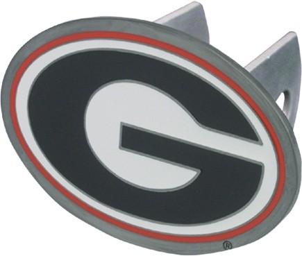 Georgia Bulldogs G Logo Trailer Hitch Receiver Cover Siskiyou
