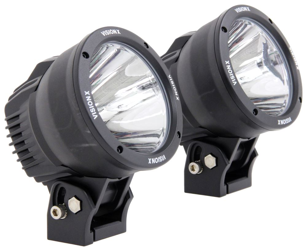 Vision X Light Cannons Off-road Light Kit - Led - 100 Watts - Spot Beam