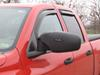 CTM3100B - Manual Longview Custom Towing Mirrors on 2005 Dodge Ram Pickup