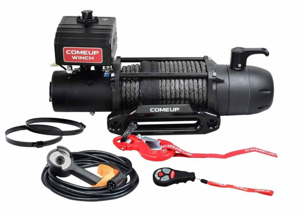 ComeUp Seal Slim Gen2 Off-Road Winch - Synthetic Rope - Hawse Fairlead - 12,500 lbs Load Holding Brake CU295057