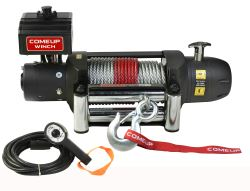 ComeUp Seal Gen2 Recovery Winch - Wire Rope - Roller Fairlead - 12,500 lb