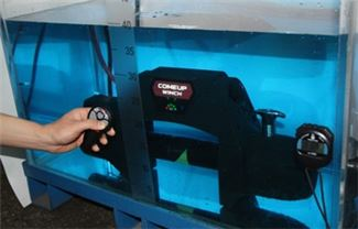 Seal Gen2 Integrated Winch under water