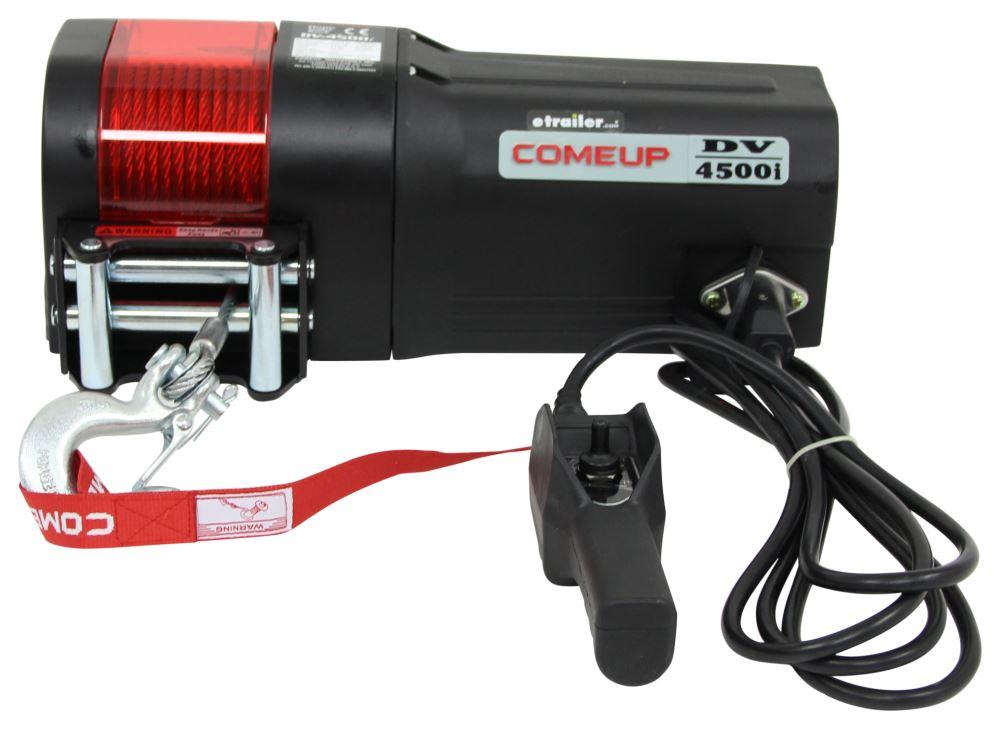 CU644512 - 1.0 HP ComeUp Car Trailer Winch,Utility Winch