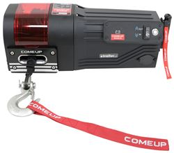 ComeUp DV-5000si Trailer Winch - Wireless Remote - Synthetic Rope - Roller Fairlead - 5,000 lbs