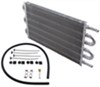 derale transmission coolers standard mount dyno-cool tube-fin cooler kit - class iii economy