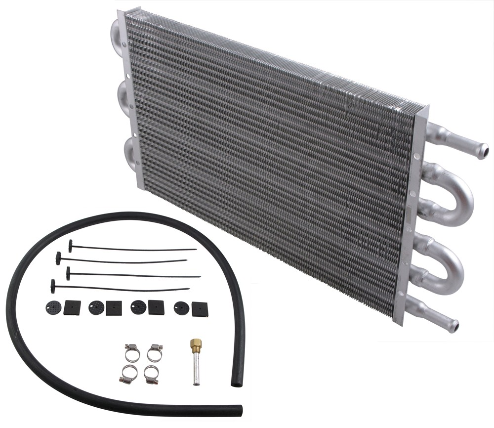 Derale Dyno Cool Tube Fin Transmission Cooler Kit Class Iii 19731979 Ford F250 Curt T Connector Wiring Harness 55301 Economy Coolers D12903