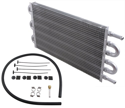 96 Jeep Cherokee Transmission: Derale Dyno-Cool Tube-Fin Transmission Cooler Kit