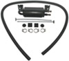 derale power steering coolers  dual-pass 2-pass tube-fin cooler with offset mounting bracket - 8-1/8 inch wide