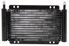 Derale Series 8000 Plate-Fin Transmission Cooler Kit w/Barb Inlets - Class III - Efficient With 11/32 Inch Hose Barb Inlets D13502