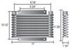 D13614 - Standard Mount Derale Plate-Fin Cooler