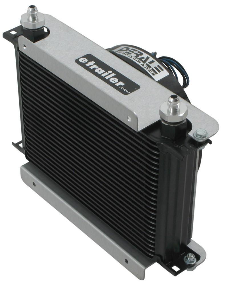 Racing Transmission Fluid Cooler : Derale hyper cool remote transmission cooler kit w fan
