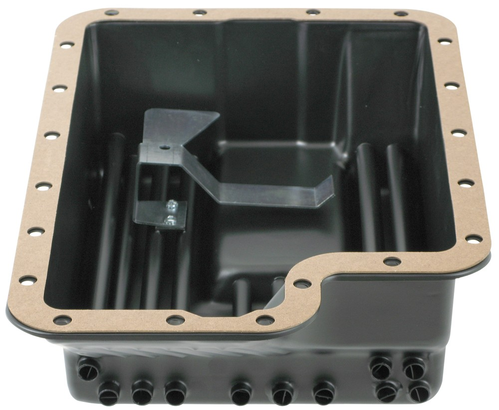 Derale Transmission Pan Cooler for Ford E4OD, 4R100, 5R110 and