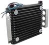 derale engine oil coolers plate-fin cooler atomic-cool remote kit w/ fan - class v