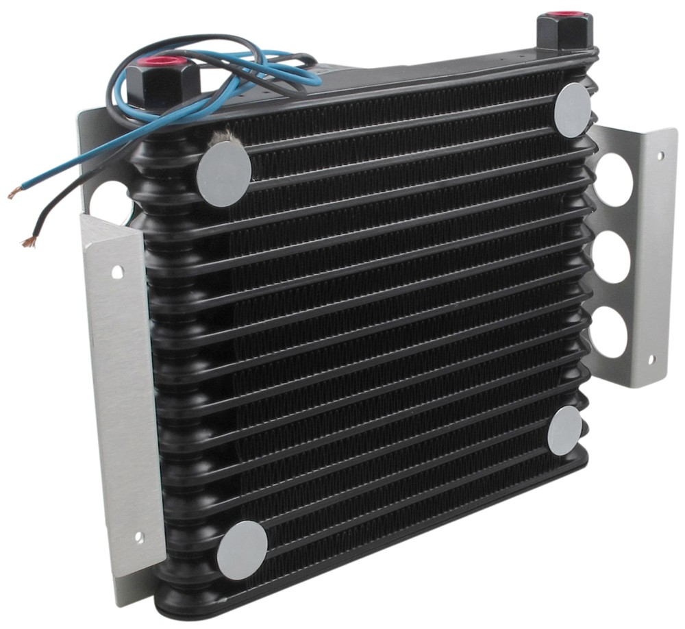 Engine Oil Cooler : Jeep cherokee derale atomic cool remote engine oil cooler