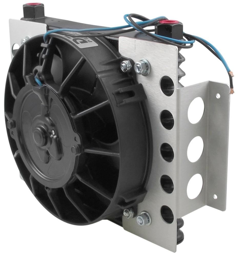 Derale Atomic Cool Remote Engine Oil Cooler Kit W Fan