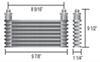 Derale Plate-Fin Cooler - D15451