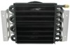 derale engine oil coolers tube-fin cooler 16-pass electra-cool remote kit w/ fan -8 an inlets - class ii