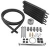derale engine oil coolers  tube-fin cooler kit w/ sandwich adapter (multiple threads) - class iii