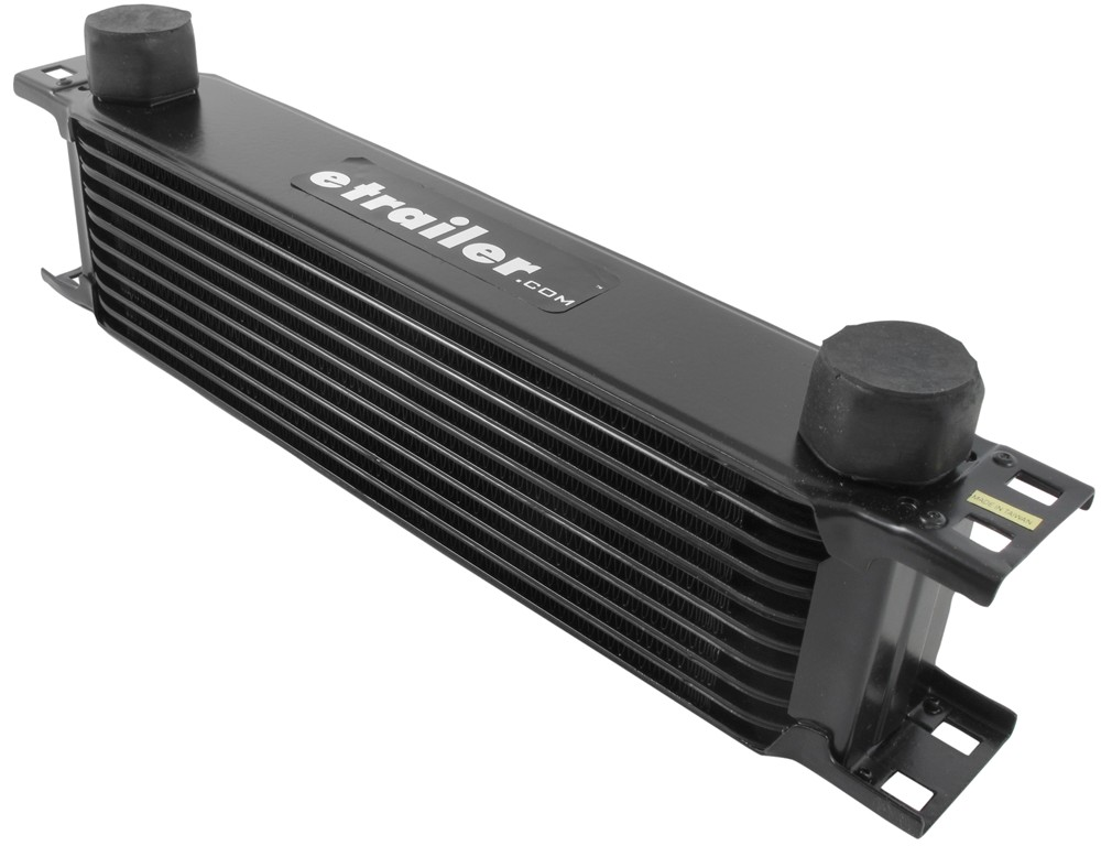 Engine Oil Cooler : Derale stacked plate engine oil cooler kit w sandwich