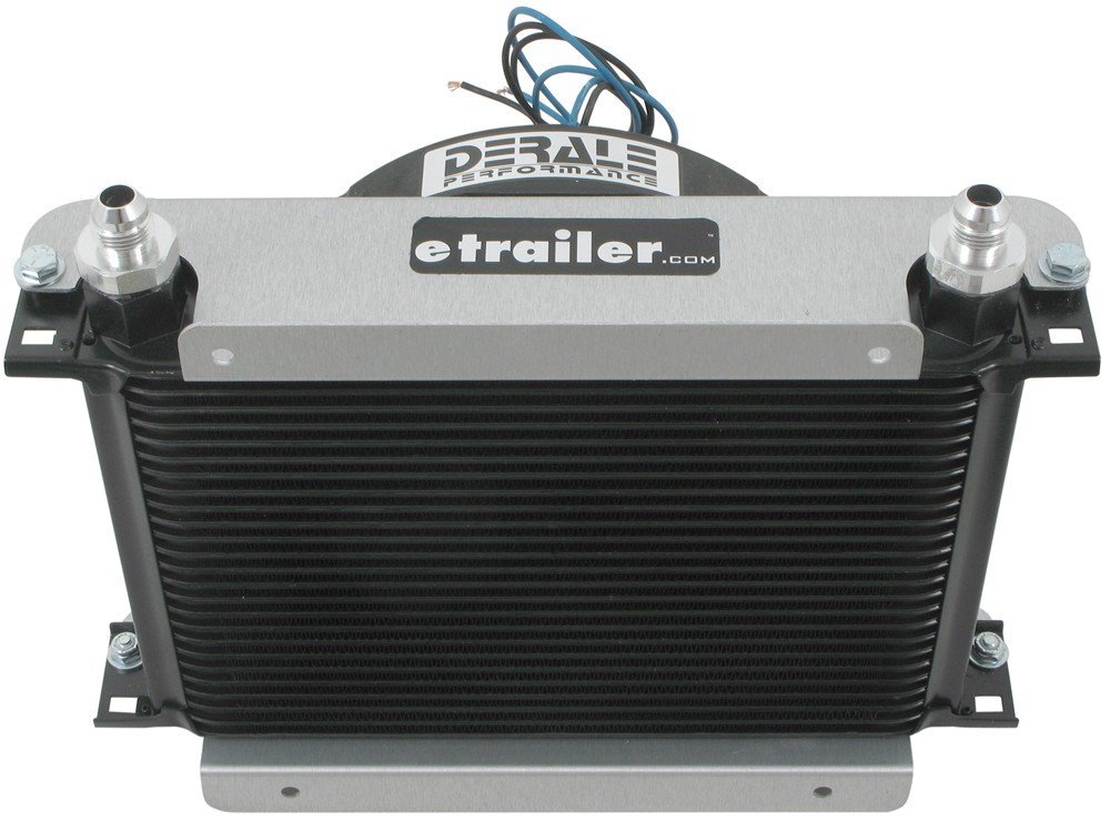 Engine Oil Cooler : Derale hyper cool remote engine cooler kit w fan an