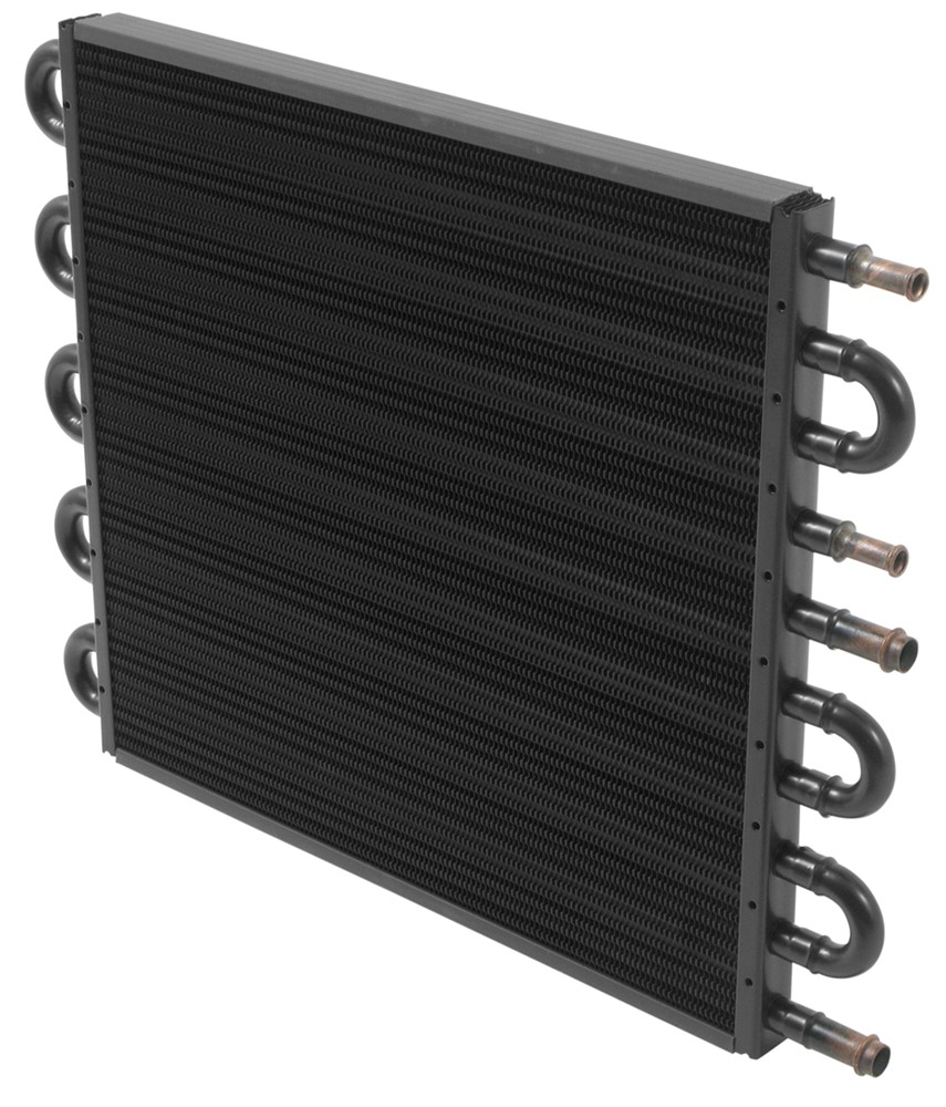 Transmission Fluid Cooler : Derale combination transmission and engine oil cooler with