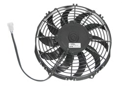 "Derale 10"" High-Output, Extreme Curved-Blade Electric Fan - 802 CFM"