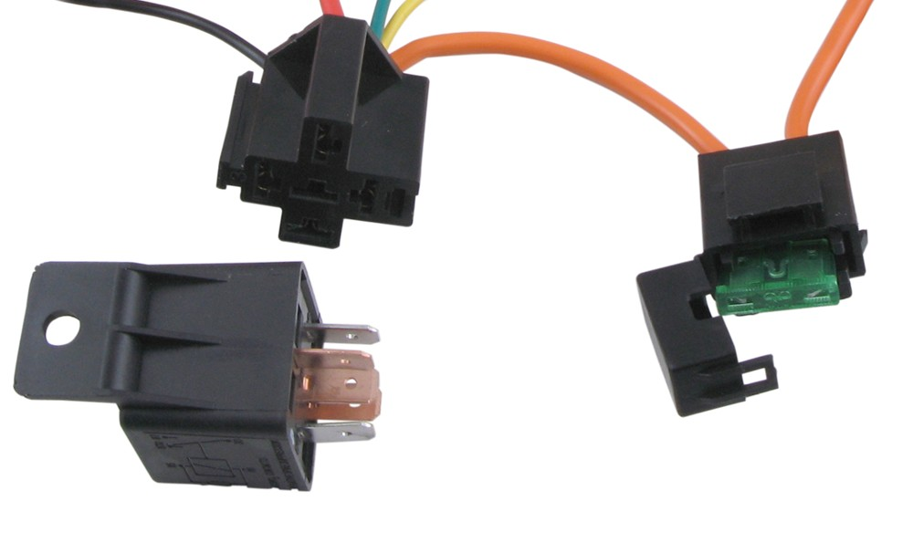 Derale 40 60 Amp Single Relay with Wiring Harness Derale