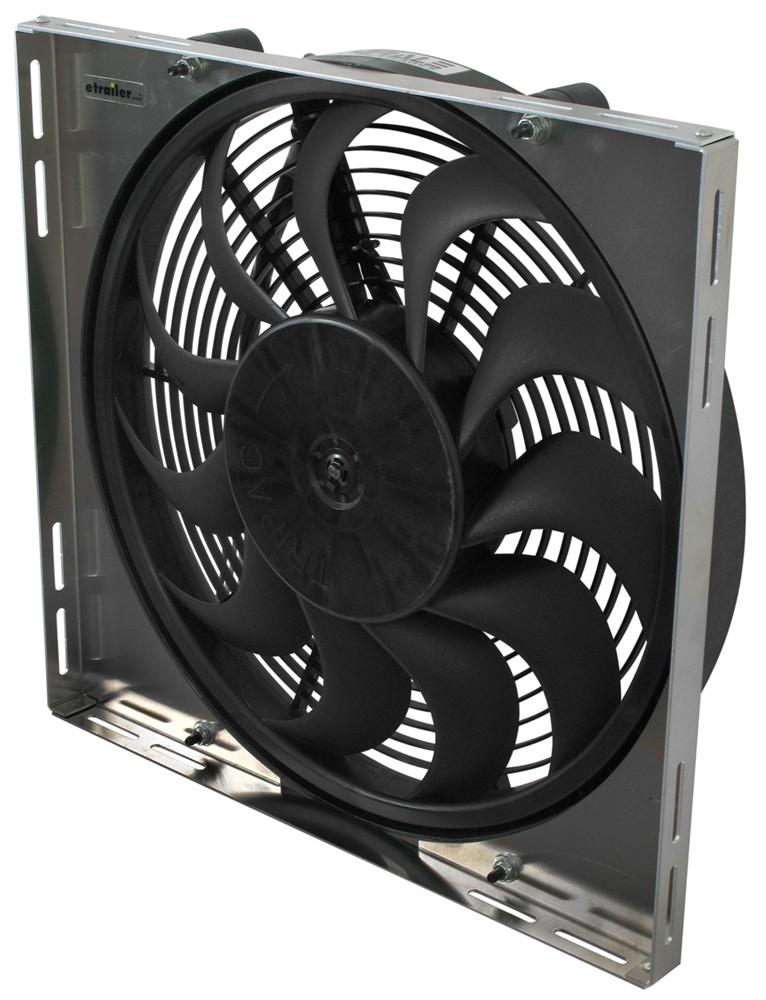 Derale 17 Quot High Output Electric Radiator Fan W Aluminum