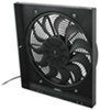 "Derale 17"" High-Output, Electric Radiator Fan-and-Shroud Assembly - 2,400 CFM 2400 CFM D16919"