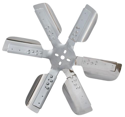 Derale 19 Quot Stainless Steel Flex Fan Chrome Belt Driven
