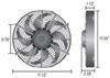 derale radiator fans electric 10 inch diameter d18910