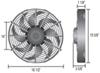 Derale Electric Fans - D18916