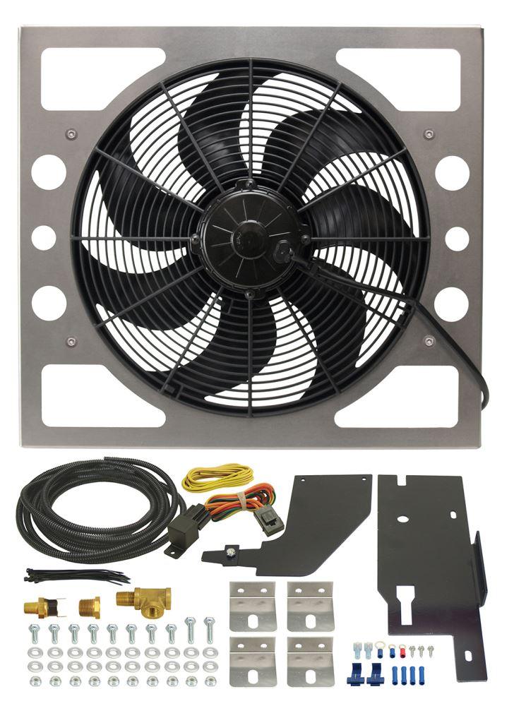 Radiator Fans D20161 - 2400 CFM - Derale