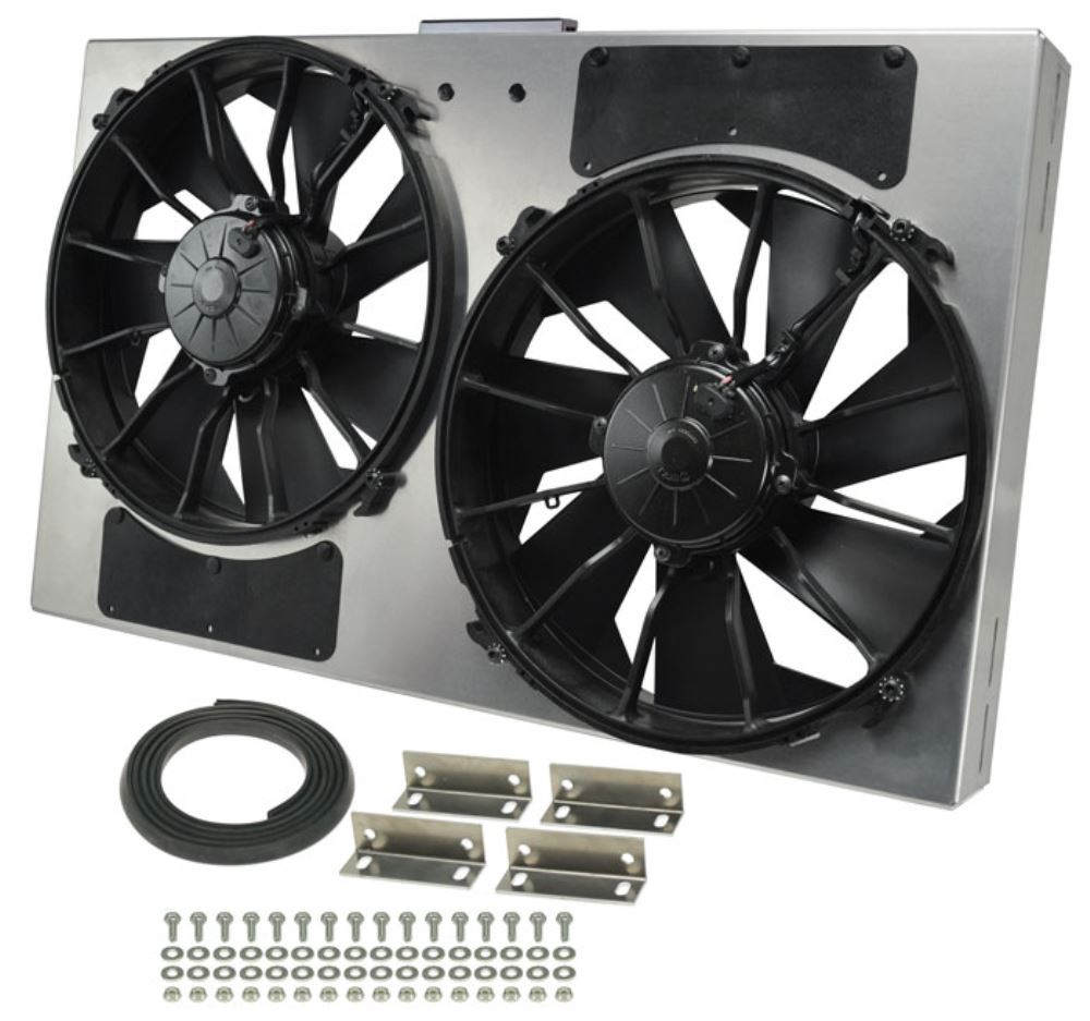 Derale 26 3 8 Quot Dual High Output Electric Radiator Fan W