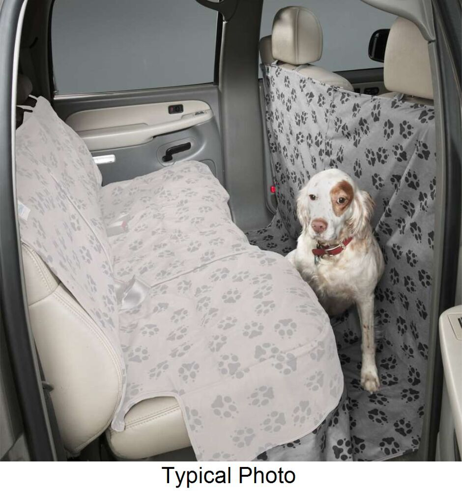 Canine Covers Custom-Fit CoverAll Floor and Front Seatback Protector - Ash Second DCA4453PA