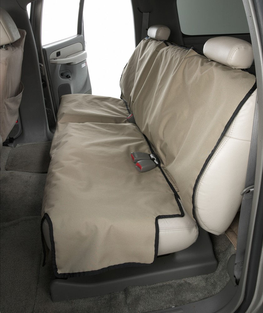 2006 chevrolet silverado canine covers econo seat protector for rear bench seats with headrests. Black Bedroom Furniture Sets. Home Design Ideas