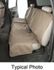 Canine Covers Charcoal Black Seat Covers - DE2011CH